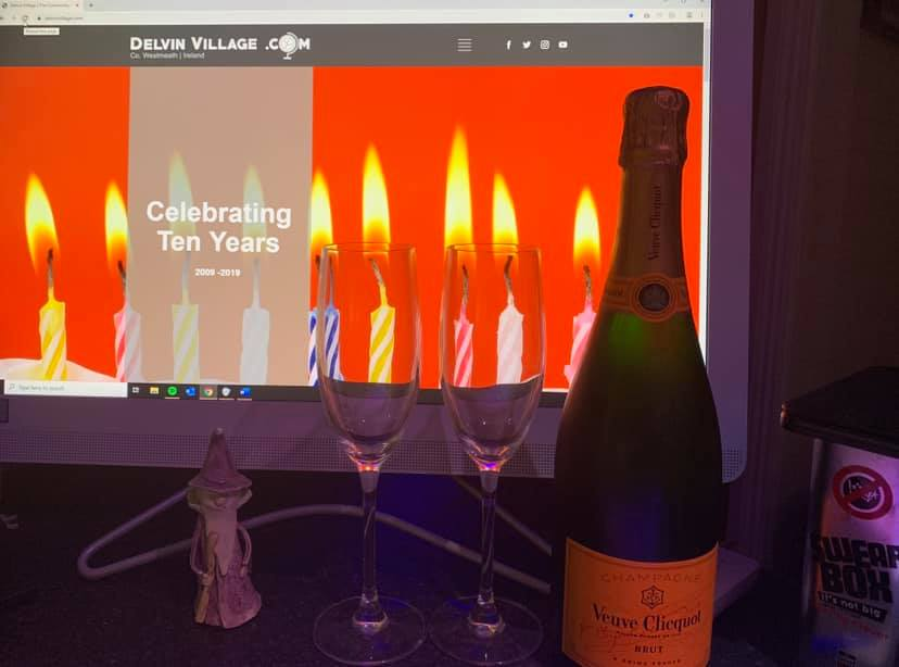 Delvin Website Turns 10