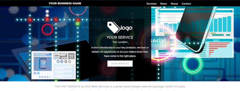 Fast Website by SOS Web Services